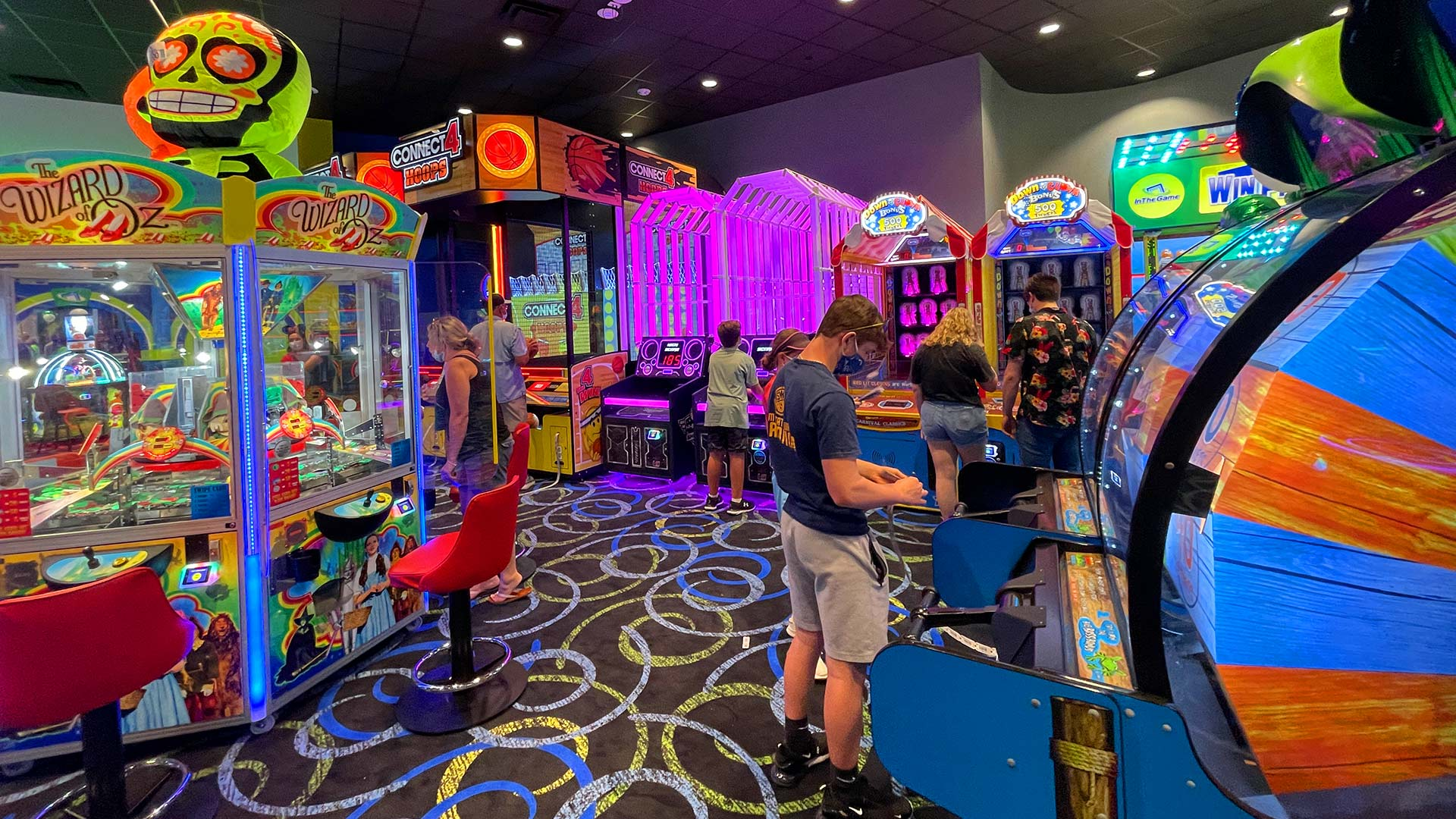 In The Game ICON Park in Orlando has amazing Arcade Games