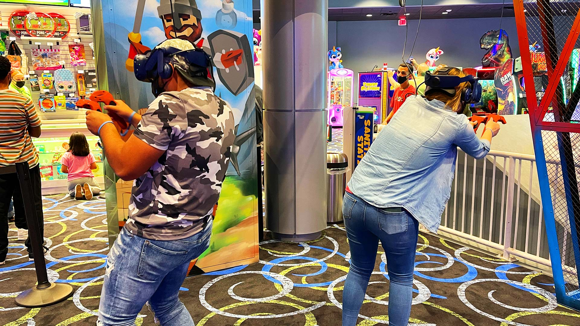 In The Game ICON Park in Orlando has Virtual Reality